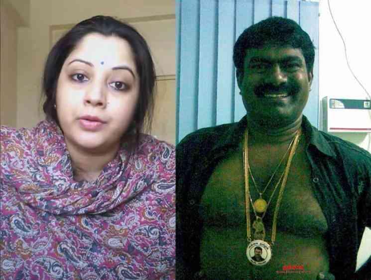 Actress Vijaya Lakshmi statement against Seeman and his followers