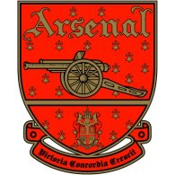 fc arsenal london 1990 s logo
