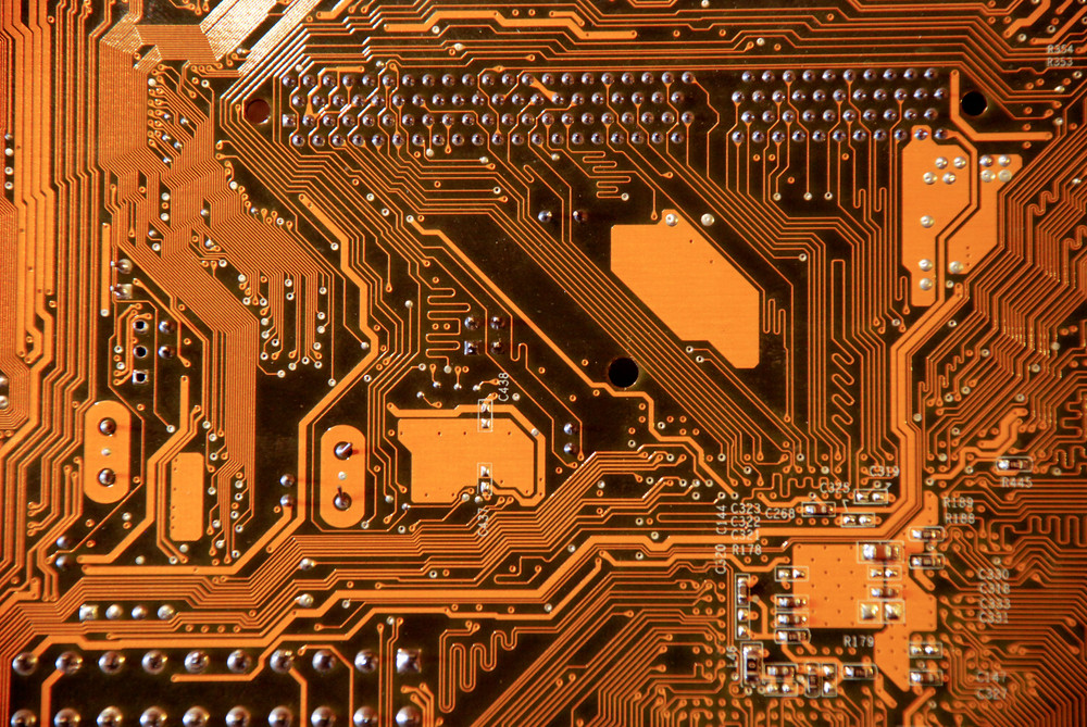 Electronics Circuit Boards 5 Texture Royalty-Free Stock
