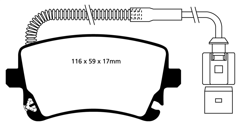 Autopartsway Canada Audi S4 Disc Brake Pad In Canada