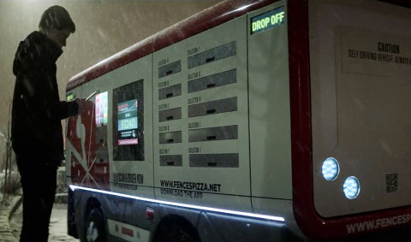 black mirror pizza truck 00 480x283 Pizza Huts creepy self driving delivery vehicle is just like the one in Black Mirror