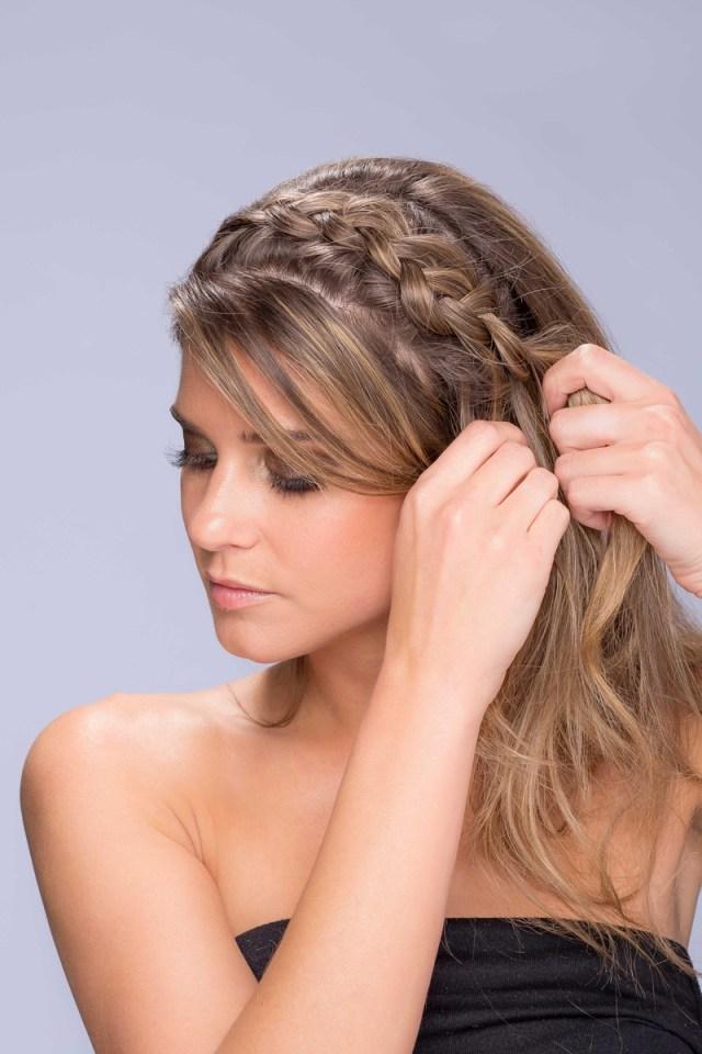 hair & makeup tutorial: diy wedding hairstyles and makeup
