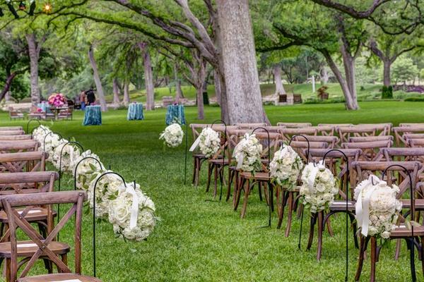 Outdoor Spring Wedding Celebration On A Ranch In Texas