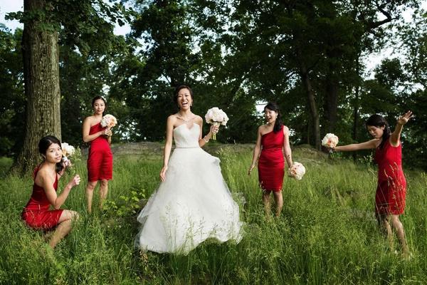 New York Country Club Wedding Incorporating Chinese