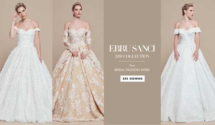 Wedding Dresses: Ebru Sanci 2018 Bridal Collection