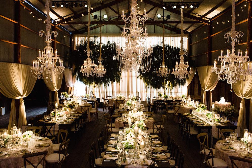 Wedding Ideas: Beautiful & Rustic Barn Reception Wedding