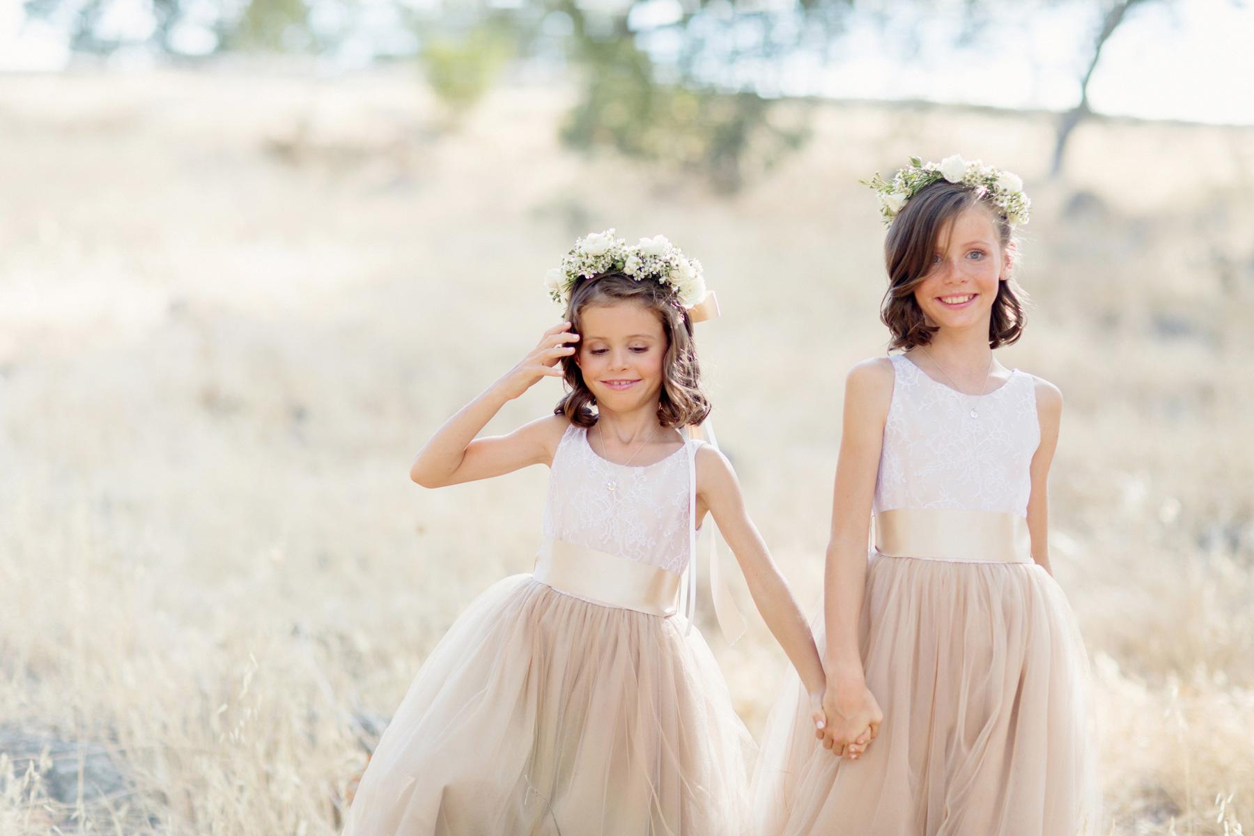 Flower Girl Dresses: Non-White Dress Options