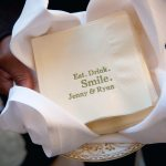 Playful Personalized Cocktail Napkins For Weddings