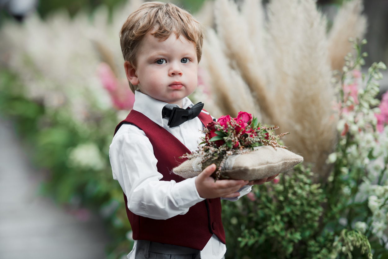 24 Of The Cutest Flower Girls & Ring Bearers At Real