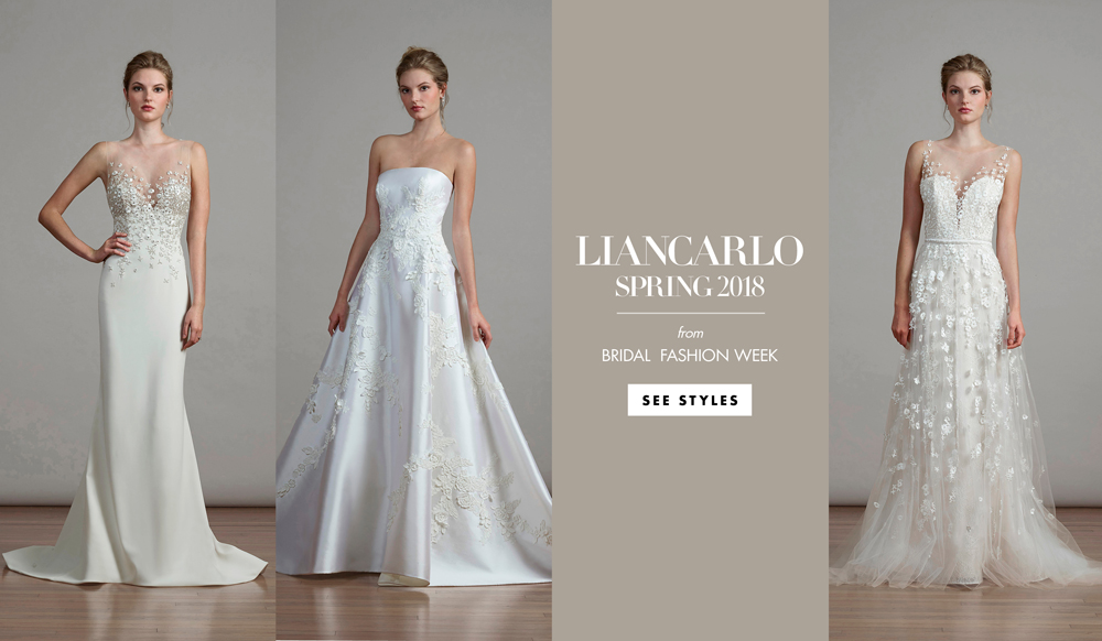 New Sophisticated Wedding Dress Styles From Liancarlo