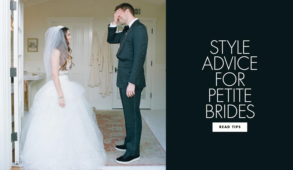 Wedding Dresses: Bridal Gown Advice For Petite Brides