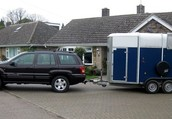 You need a Category EB Driving Licence to Tow Trailers *