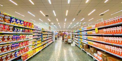 supermarket snacks
