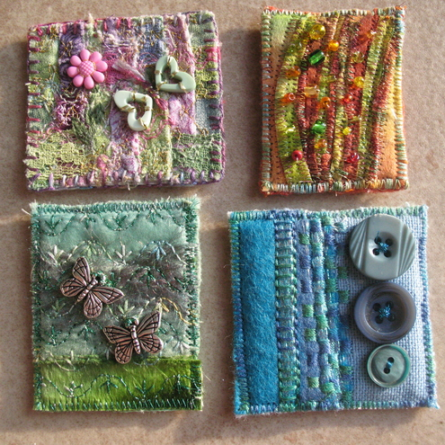Art brooches - C Creations