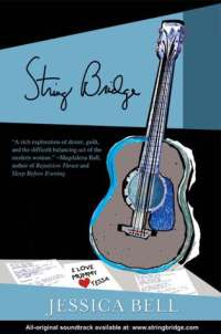 String Bridge by Jessica Bell book cover