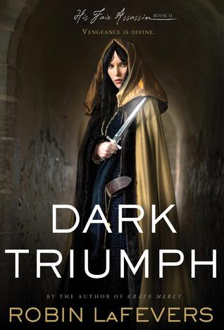 cover image, Dark Triumph by Robin LaFevers