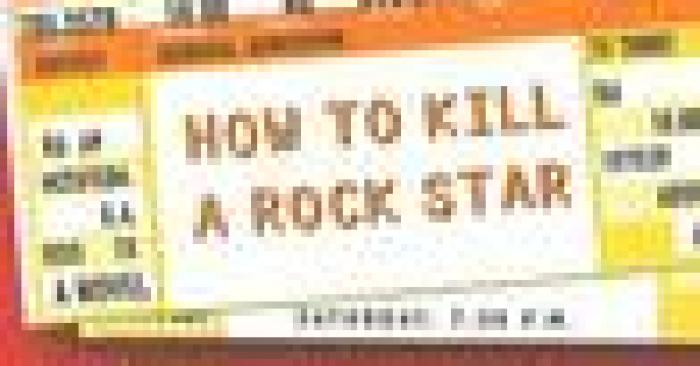 Review: How to Kill a Rock Star