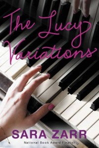 The Lucy Variations by Sara Zarr book cover