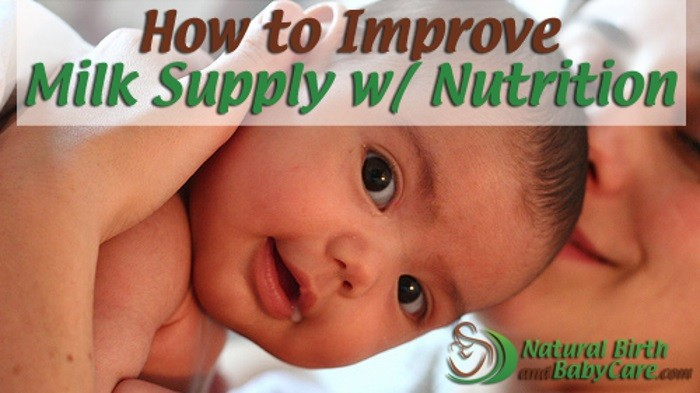 How to Improve Milk Supply Through Nutrition