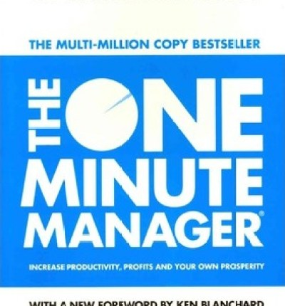 Photo Proventure | The Bookshelf | Business & Reference | The One Minute Manage - Ken Blanchard & Spencer Johnson