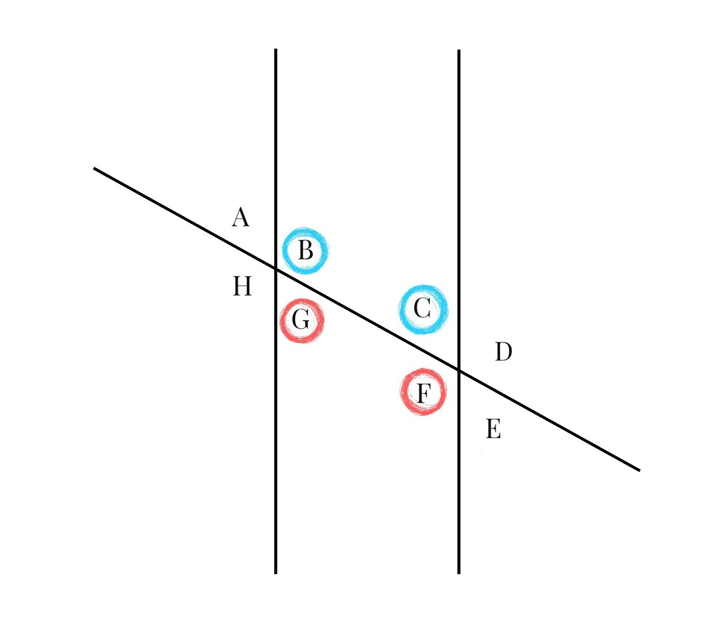 Find And Use Consecutive Interior Or Exterior Angles