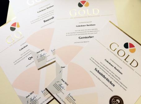 Goldmedaille für Sabine Gaues und ihr Gehrdener Backhaus