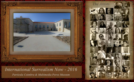 International Surrealism Now 2016 nos  EUA, Mississipi, Particula Coimbra e Museu Multimédia Poros, Portugal
