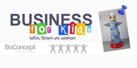 Hannover: Business for Kids mit BoConcept als Sponsor