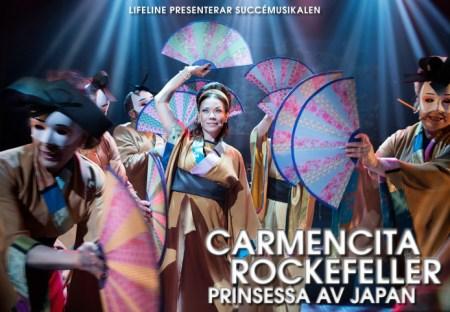 Carmencita Rockefeller intar Stockholm