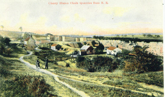 Image result for cherry hinton chalk quarry