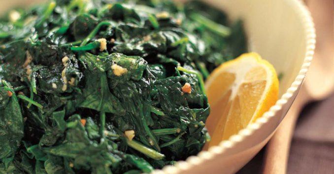 Garlic Sautéed Spinach | Recipes | Barefoot Contessa