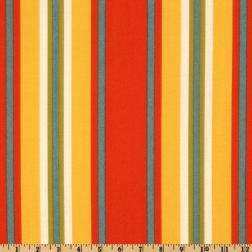Swavelle/Mill Creek Indoor/Outdoor Trudy Stripe Geranium Fabric