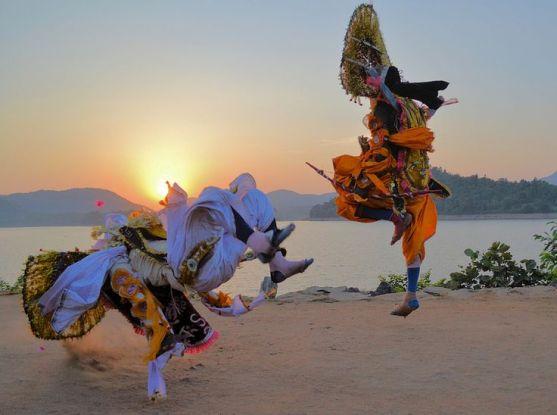 Chhau Dance - Costumes