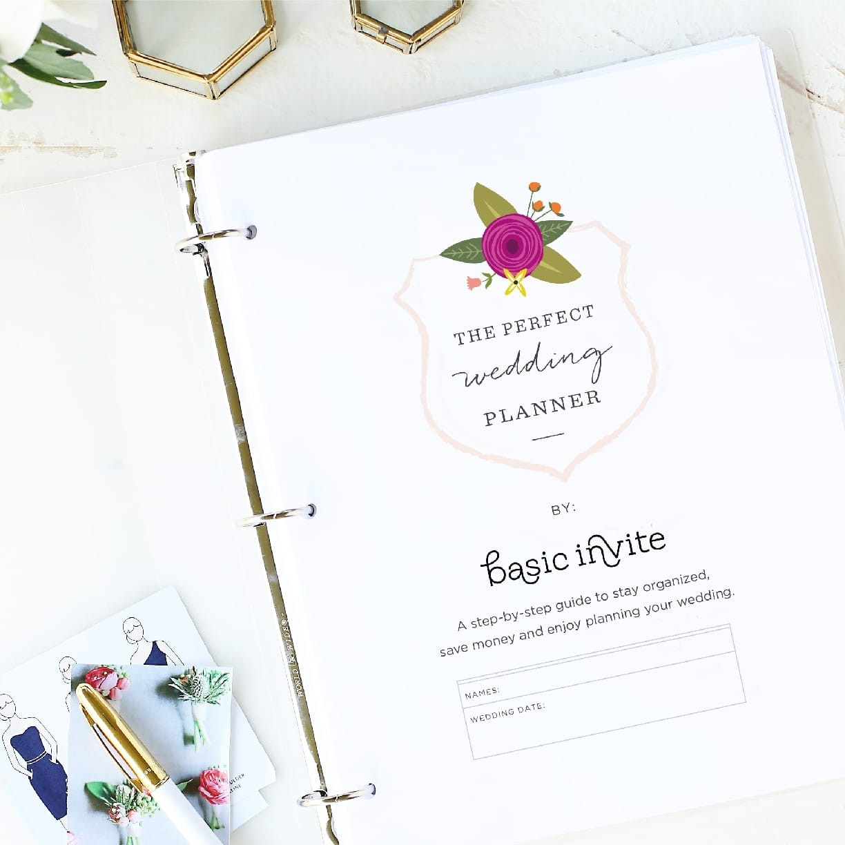 Wedding Planner Printable By Basic Invite