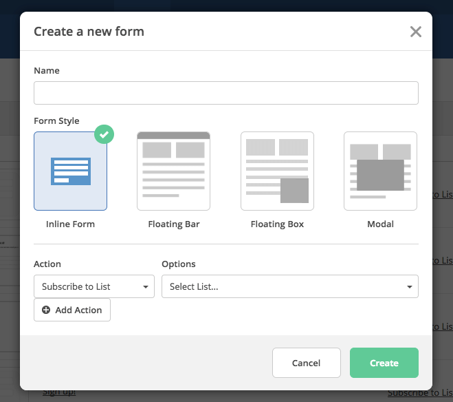 Form Styles 4 Ways To Create Forms Activecampaign