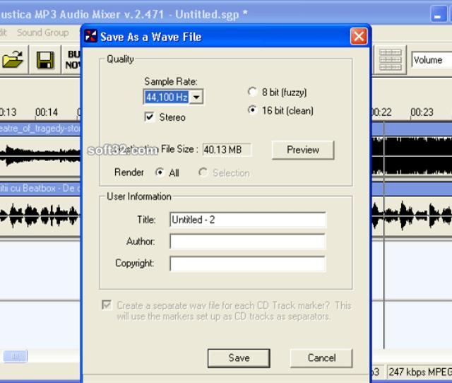 Free Download Acoustica Mp3 Audio Mixer 2 471 – Home Garden