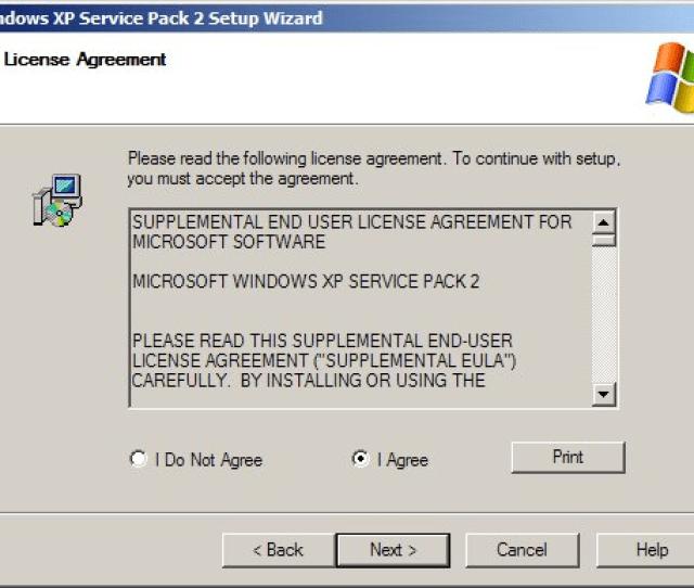 Windows Xp Service Pack 2 1