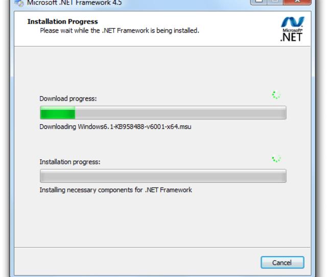 Net Framework Screenshot
