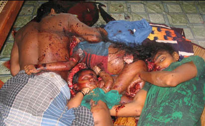 Killing of the Tamils.