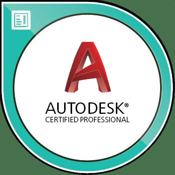 Autodesk Certified Professional AutoCAD Image