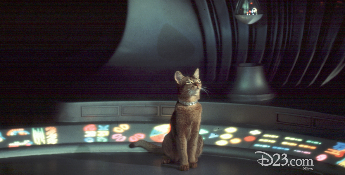 Cat From Outer Space The Film D23