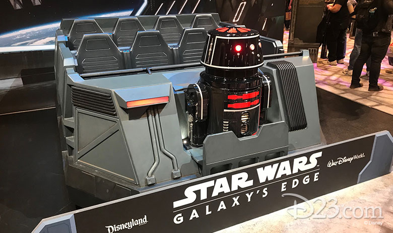 Star Wars: Rise of the Resistance ride vehicle released at