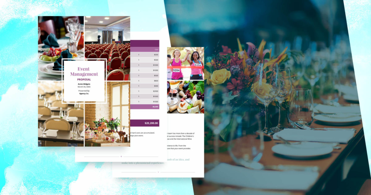 Event Management Proposal Template Free Sample Proposify