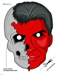 printable scary halloween masks