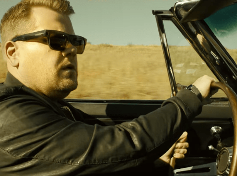Vintage Corvette Saves James Corden's Apple Music Ad From Terminal Meh
