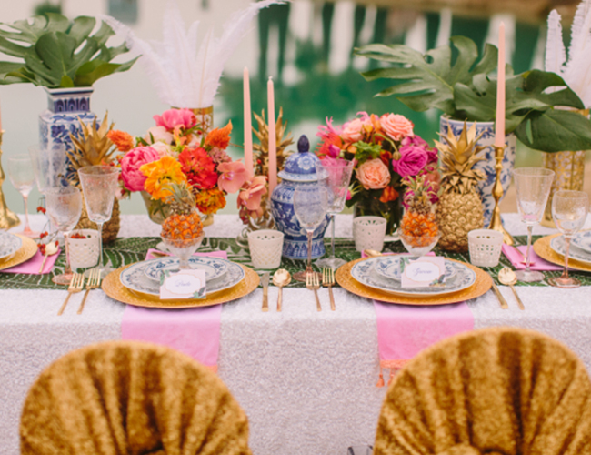 Caribbean Boho Wedding Inspiration