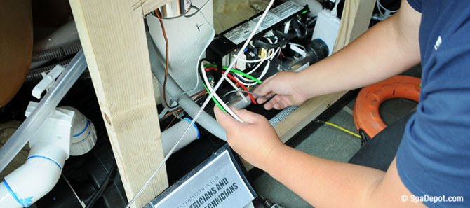 how to wire a spa  wiring for 120v and 240v hot tubs