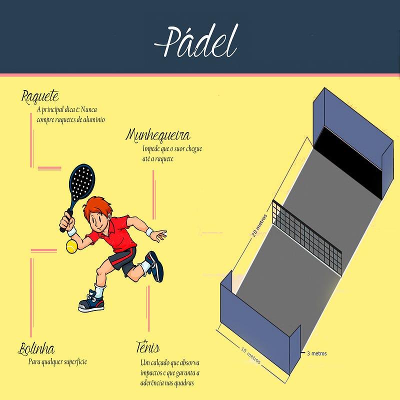 4c687f864 A bola é específica para prática do Pádel