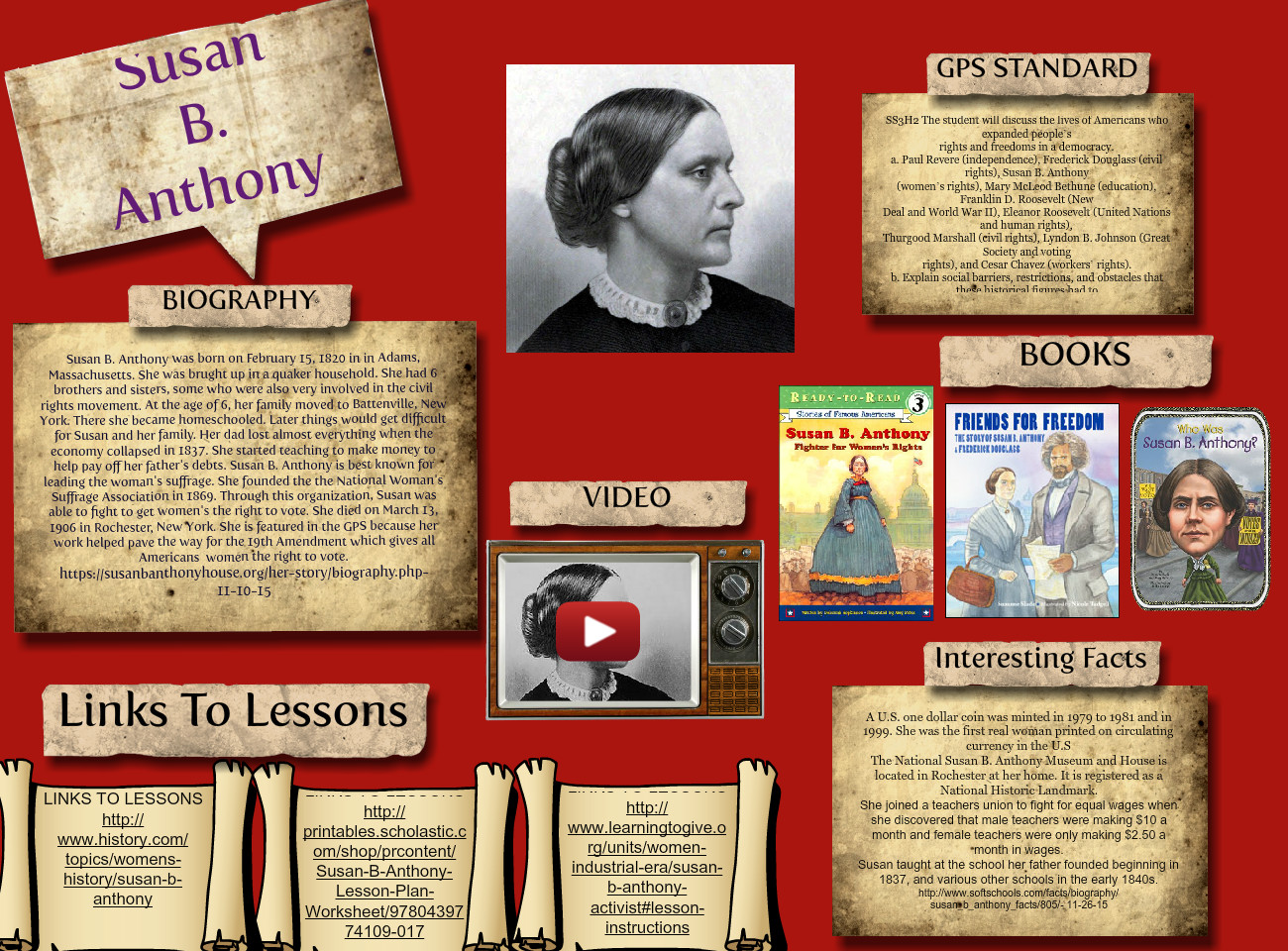 Susan B Anthony Anthony Biographies Eng Historical