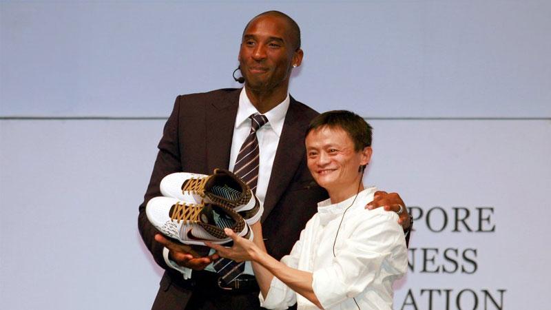 Kobe Bryant Jack Ma | Photo